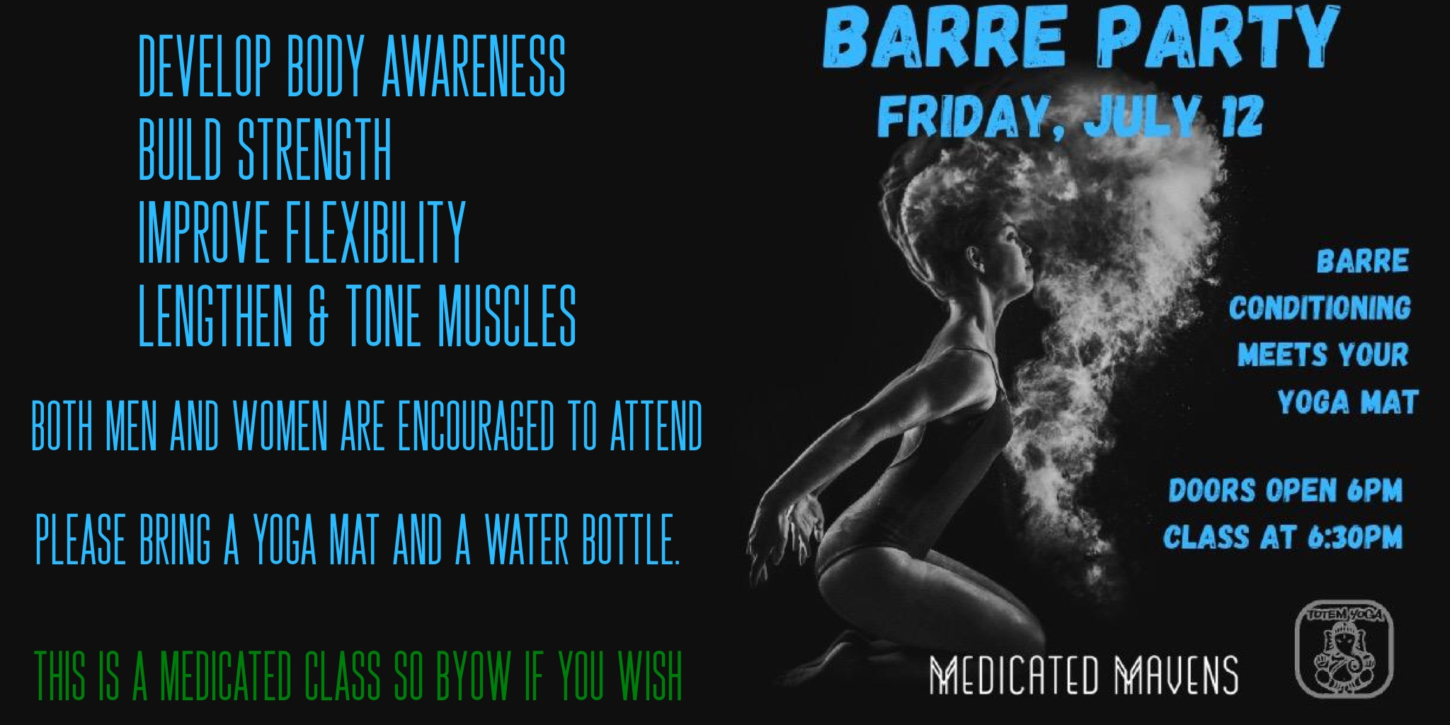Medicated Mavens Barre Party