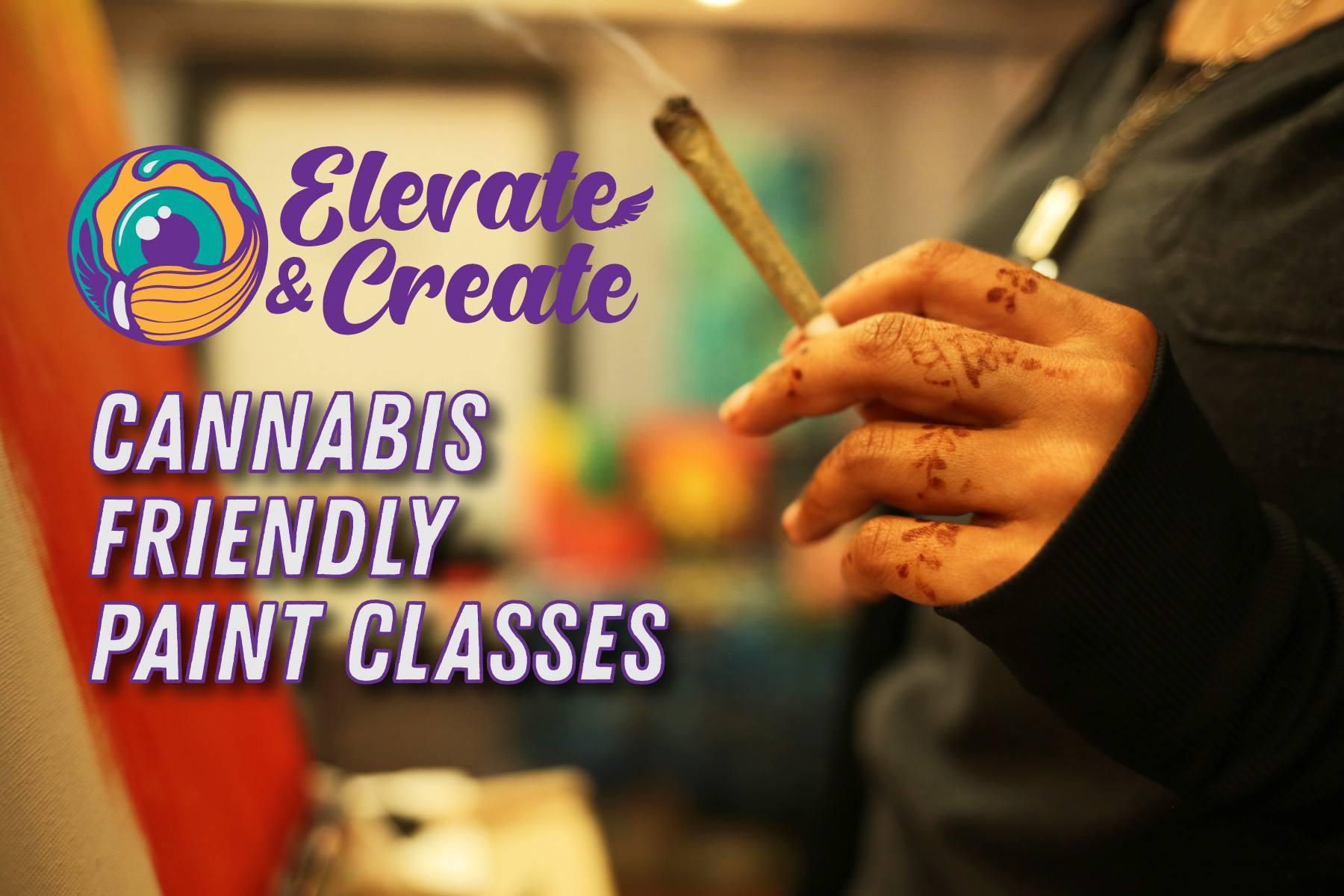 Elevate & Create - Canna-Friendly Paint Workshop