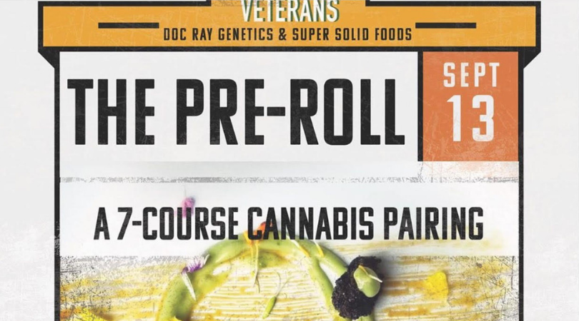 The Pre-Roll 7 course cannabis infused meal