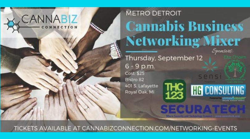 Metro Detroit Cannabiz Connection Networking Mixer