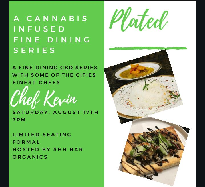Plated: An Infused Fine Dining Series w. Chef Kevin