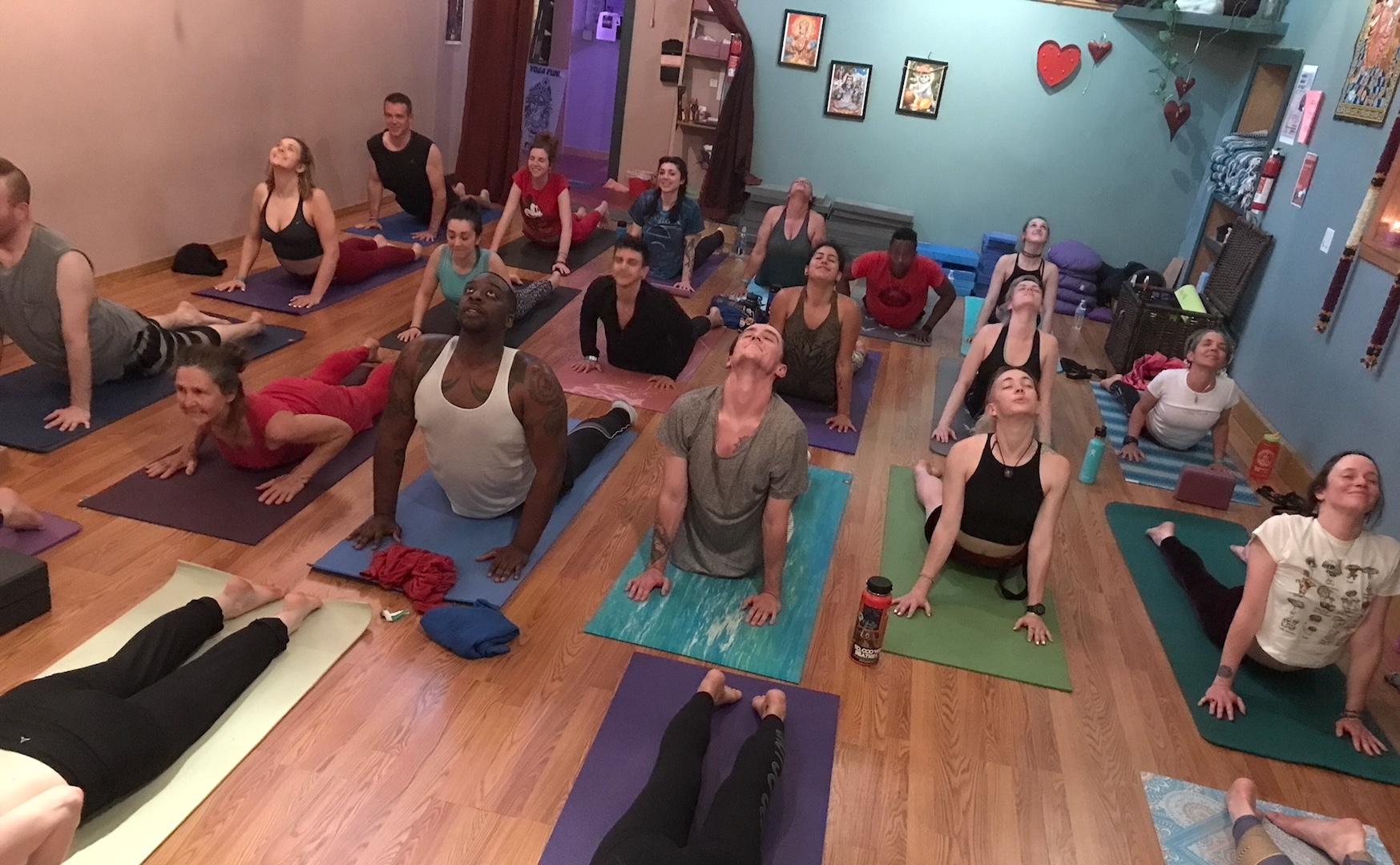 YOGANJA Stoned Yoga
