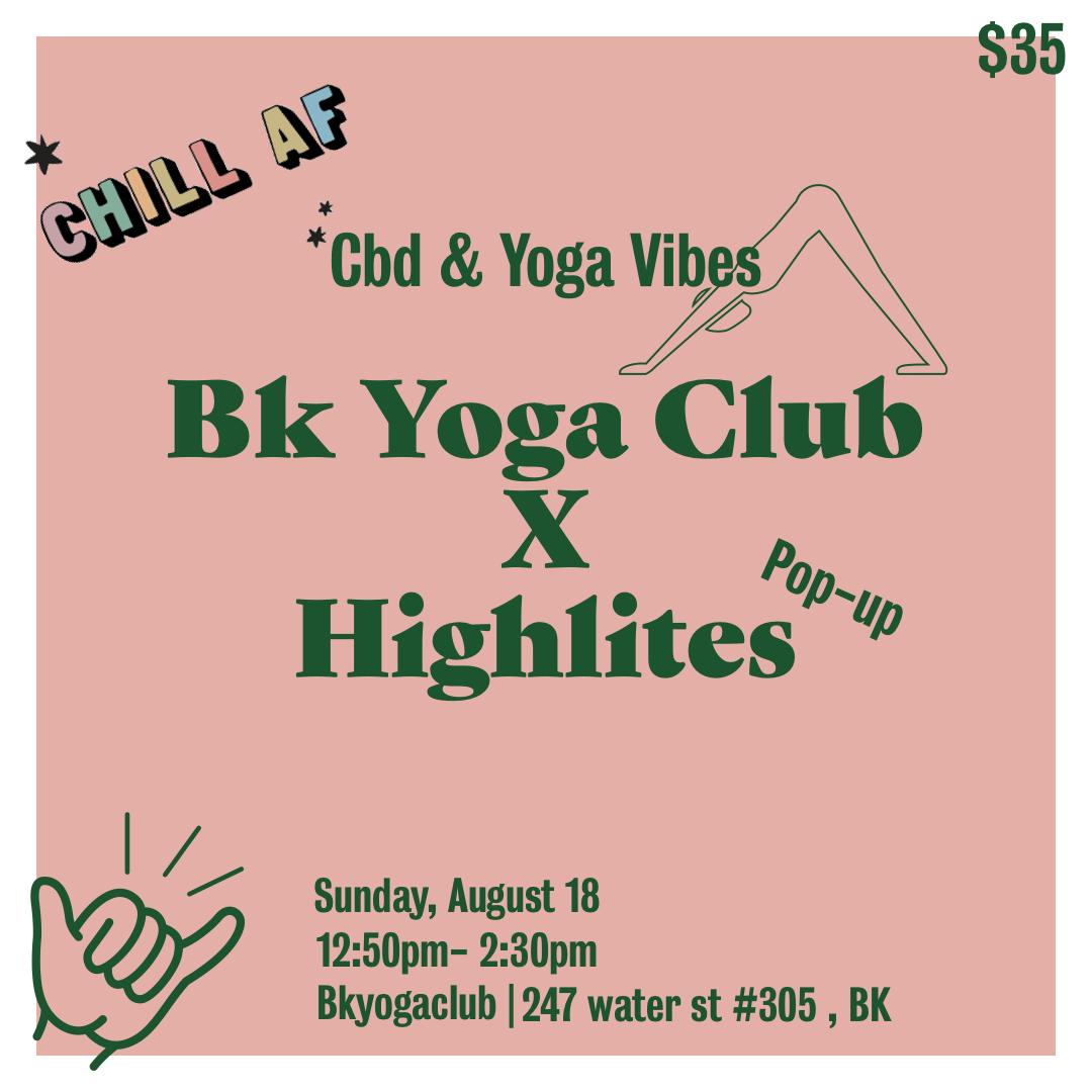 The BK Yoga Club CBD Experience