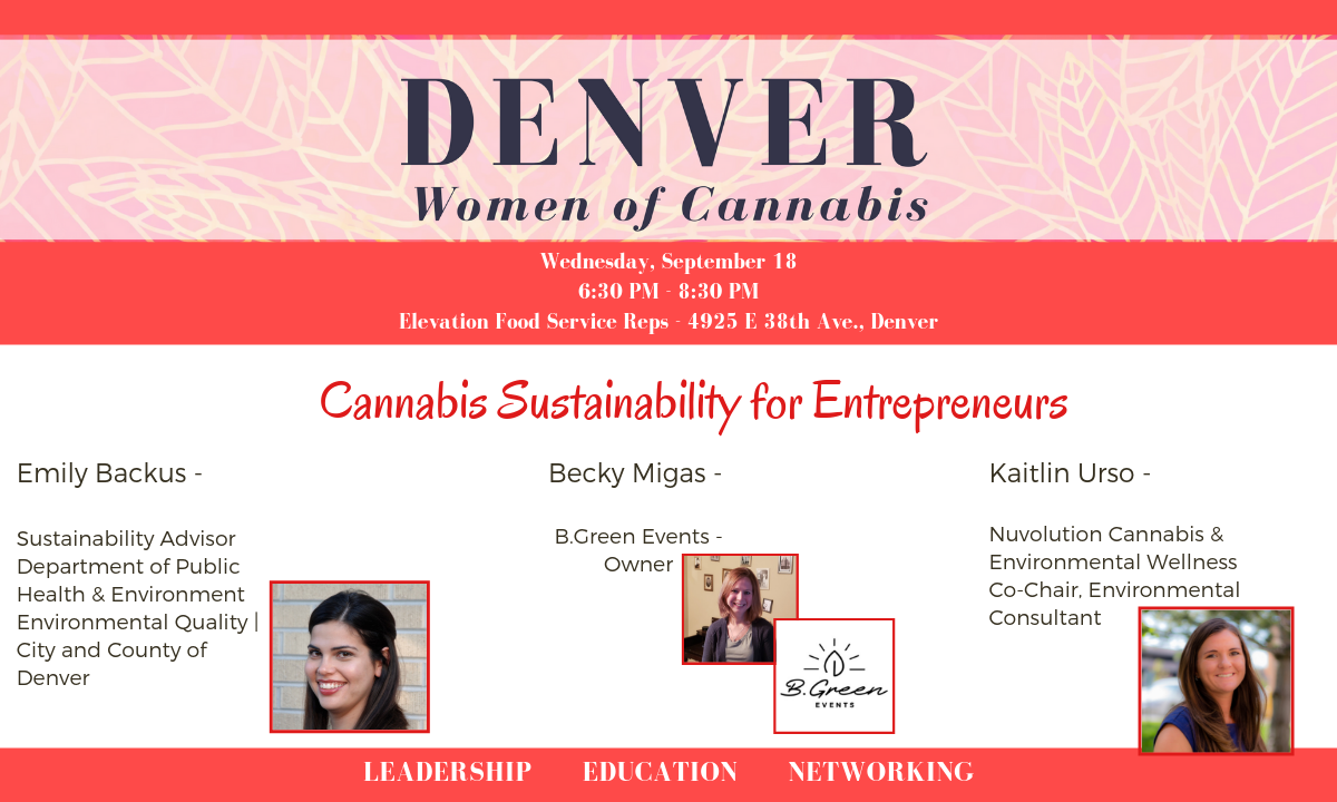 Denver Women of Cannabis - September 18