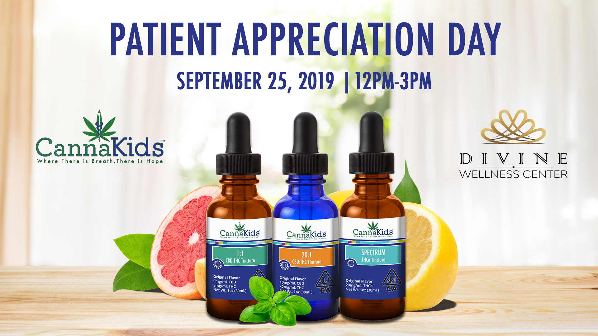 CannaKids Patient Appreciation Day at Divine Wellness Center
