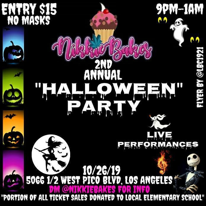 NikkieBakes 2nd Annual Halloween Party