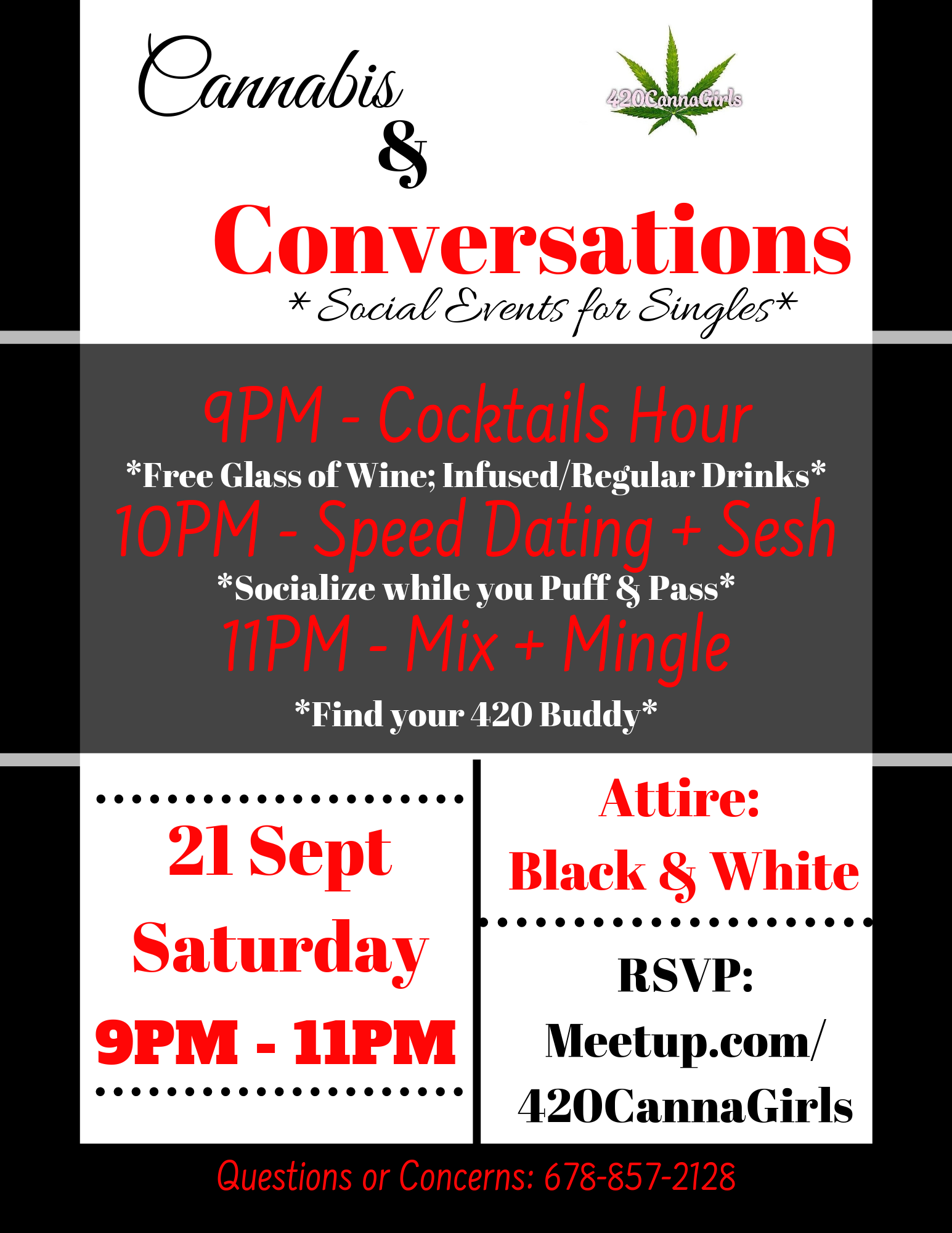 Cannabis + Conversation: Social Event for Singles