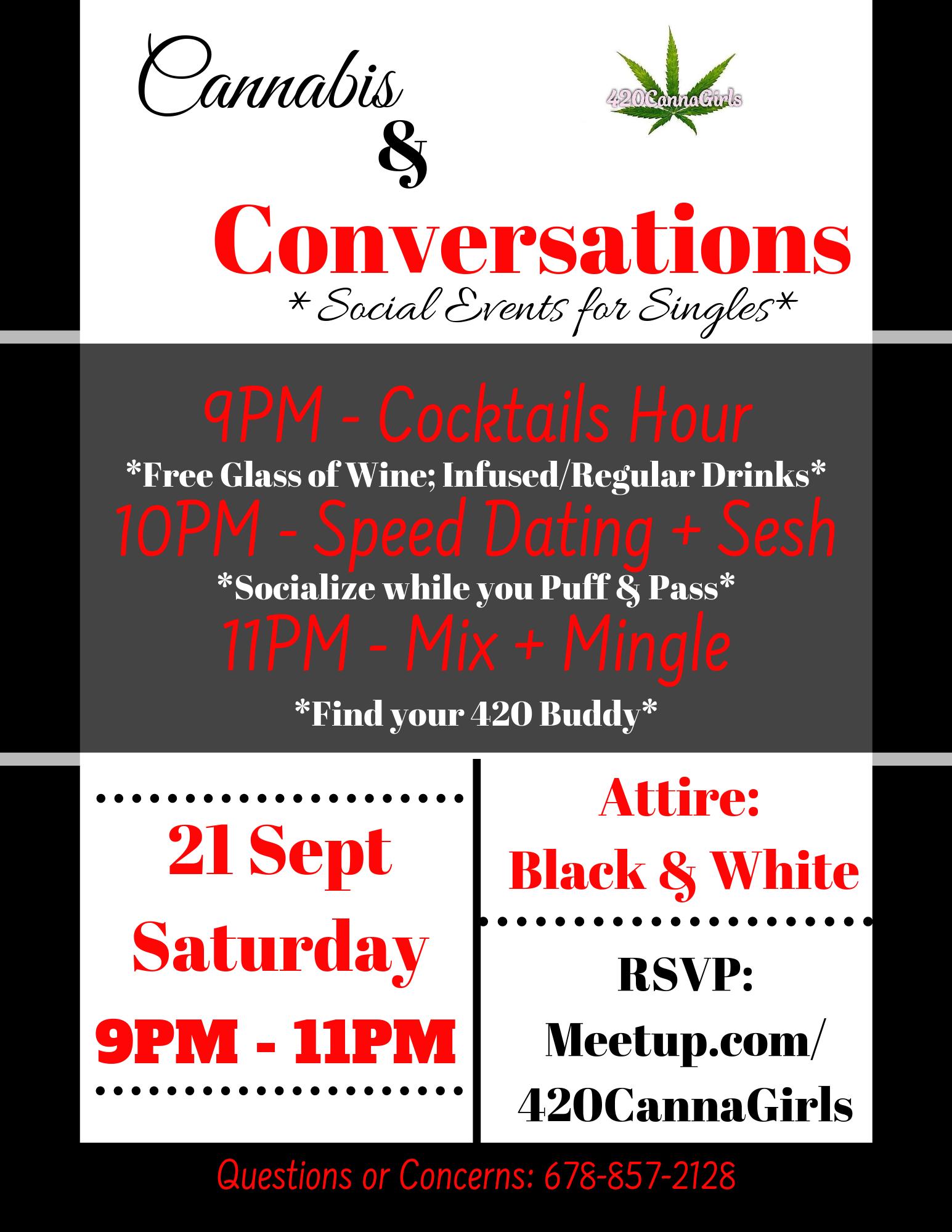 Cannabis + Conversation: Social Event for Singles