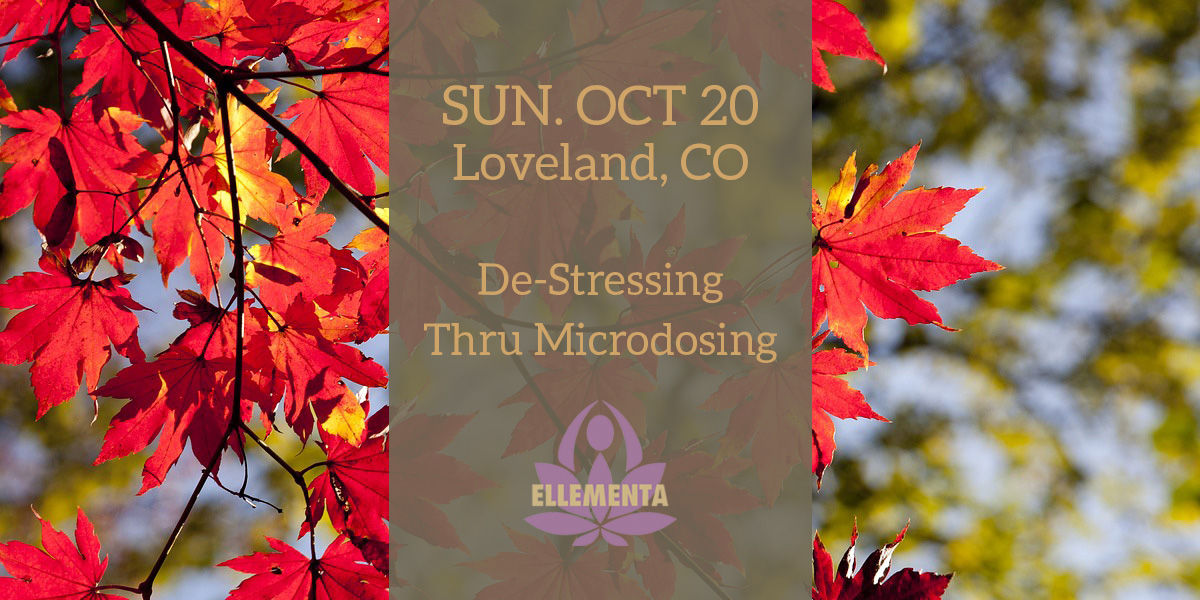 Ellementa Loveland: De-Stressing Through Microdosing