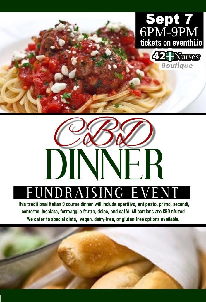 CBD Infused Italian Dinner