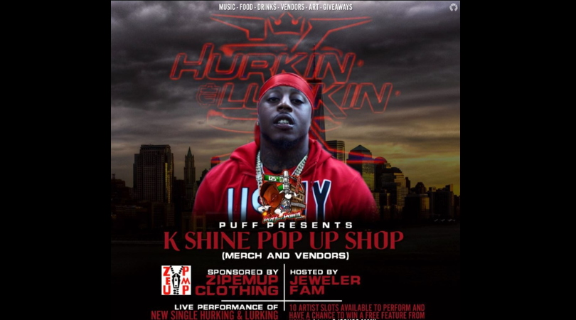 K shine pop up shop