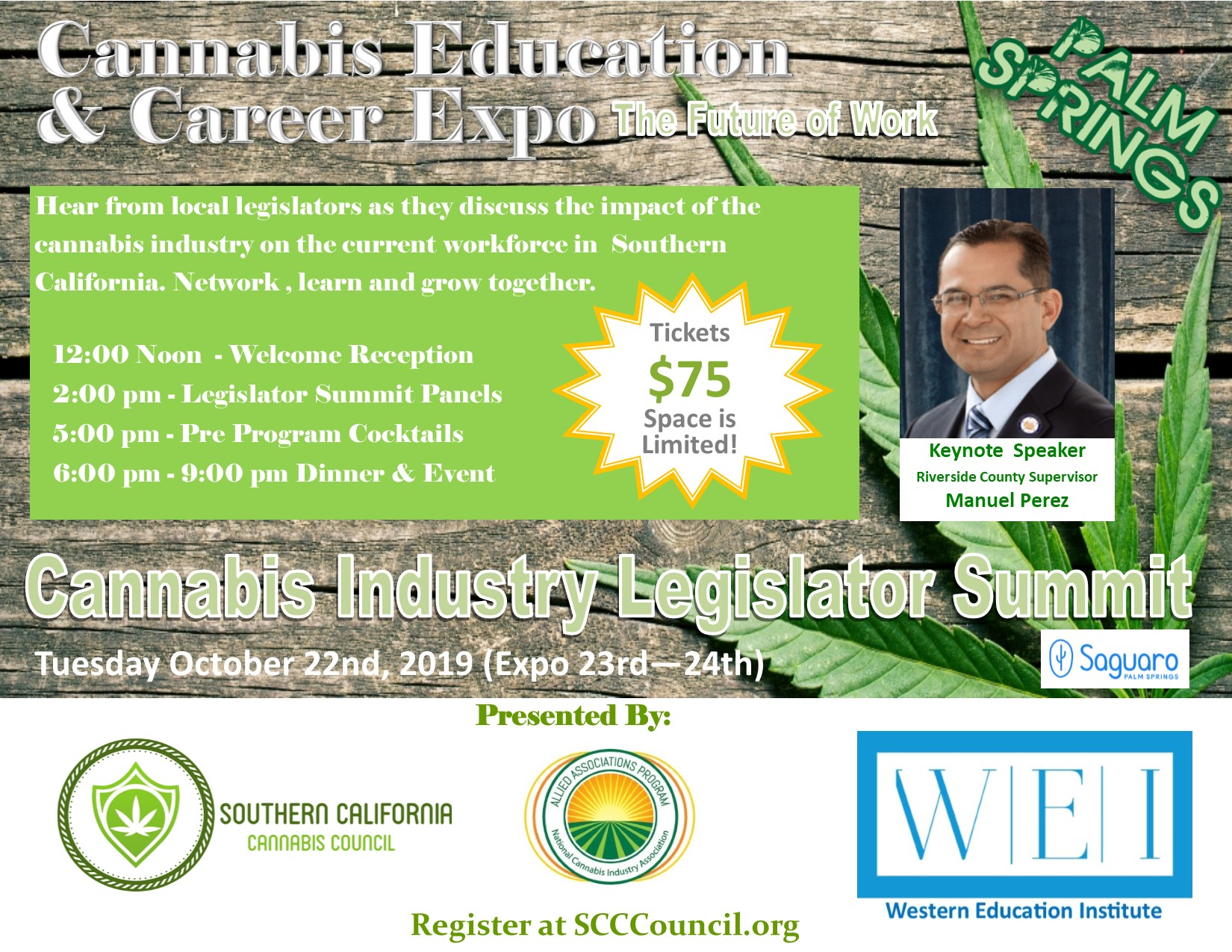 Cannabis Education and Career Expo Legislative Summit