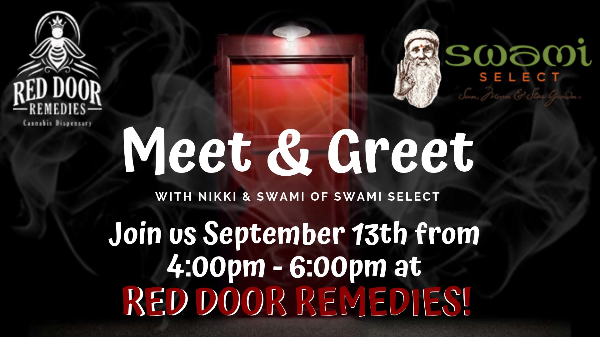 Swami Select In-Store Meet & Greet: Red Door Remedies