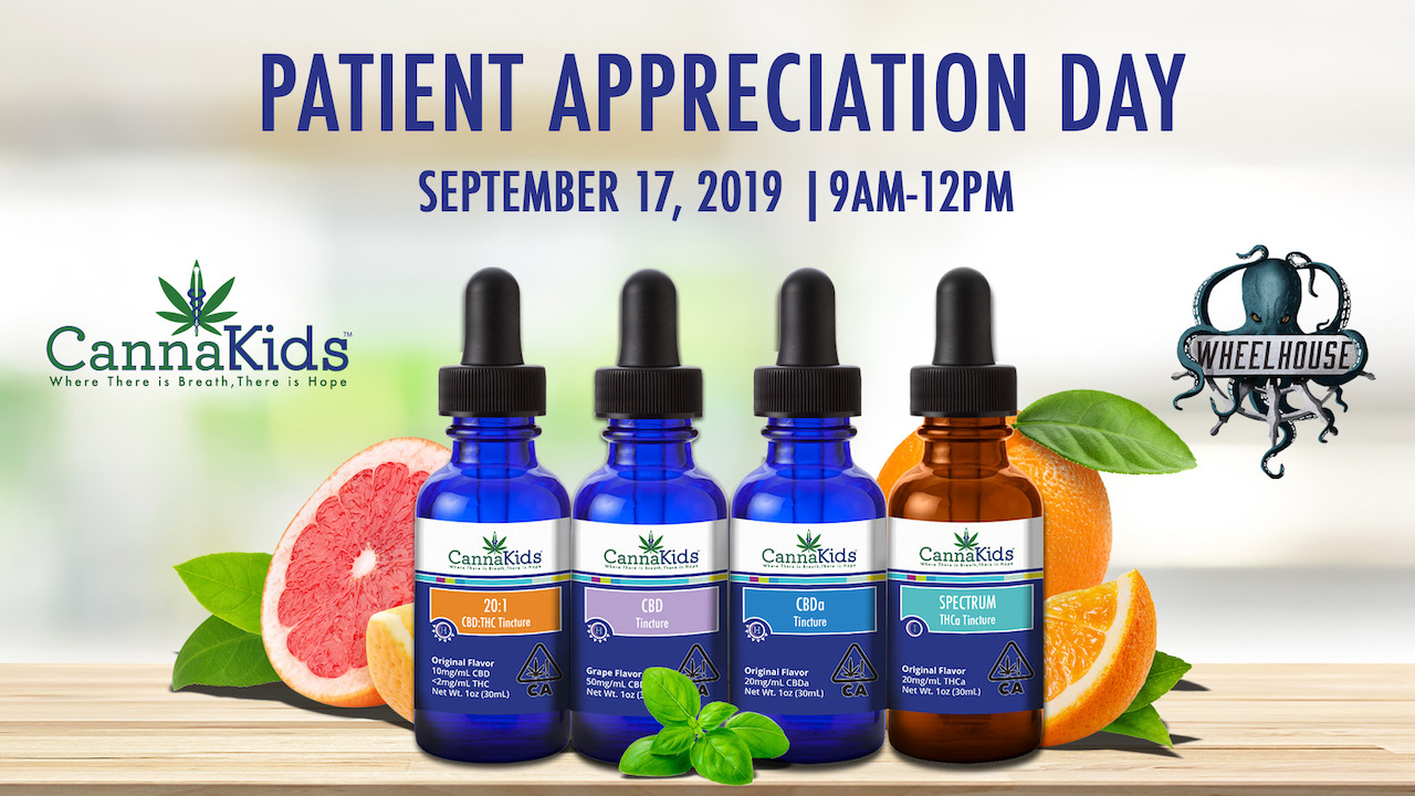 CannaKids Patient Appreciation Day at Wheelhouse Cannabis Dispensary