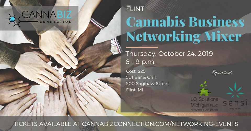 Flint Cannabiz Connection Networking Mixer