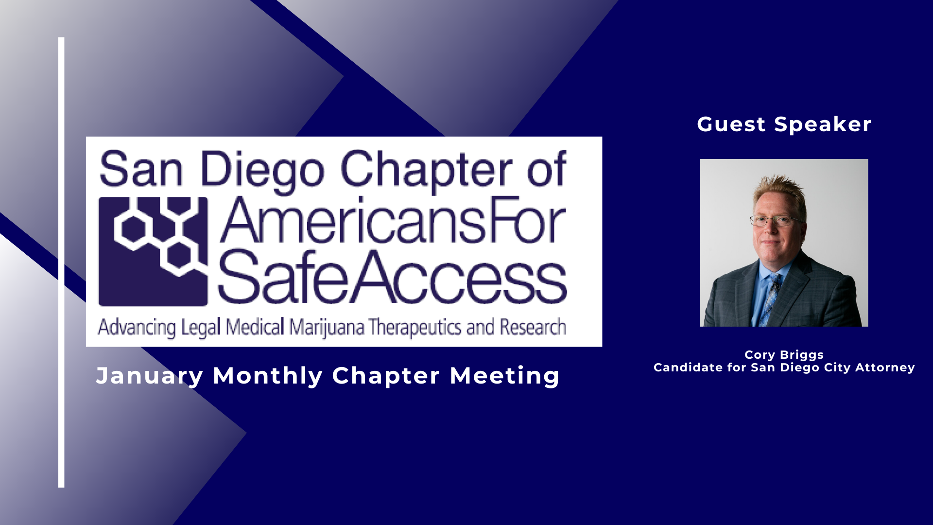 SDASA January Chapter Meeting