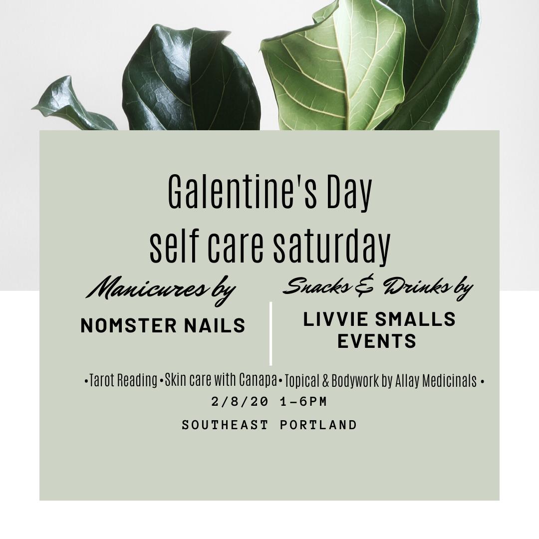 Galentine's Day : Pampering & Self Love