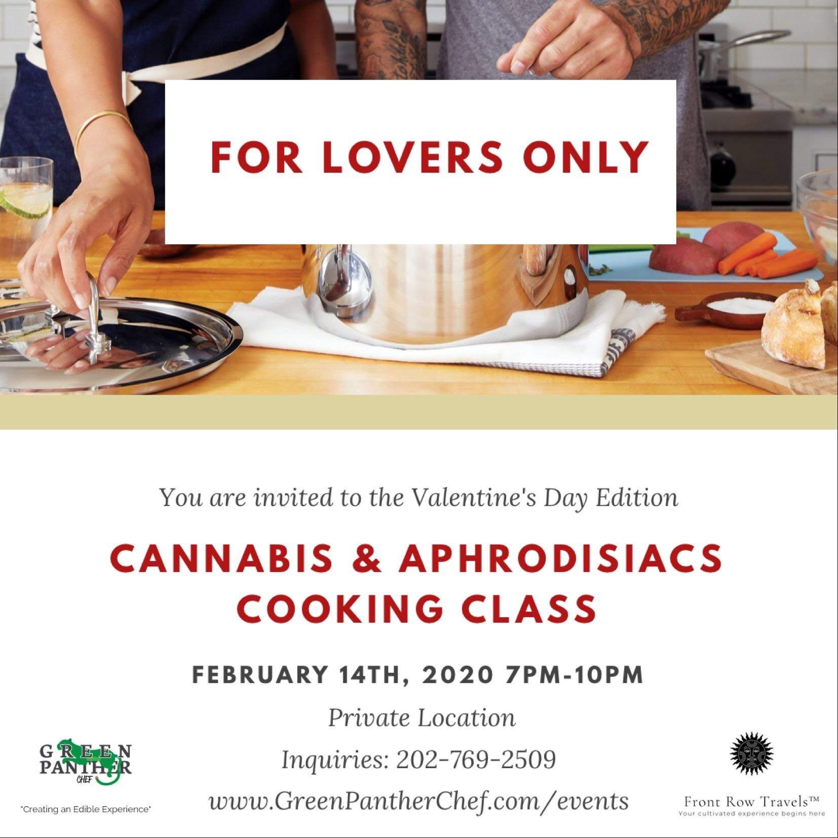 Canna Couples Cooking Class