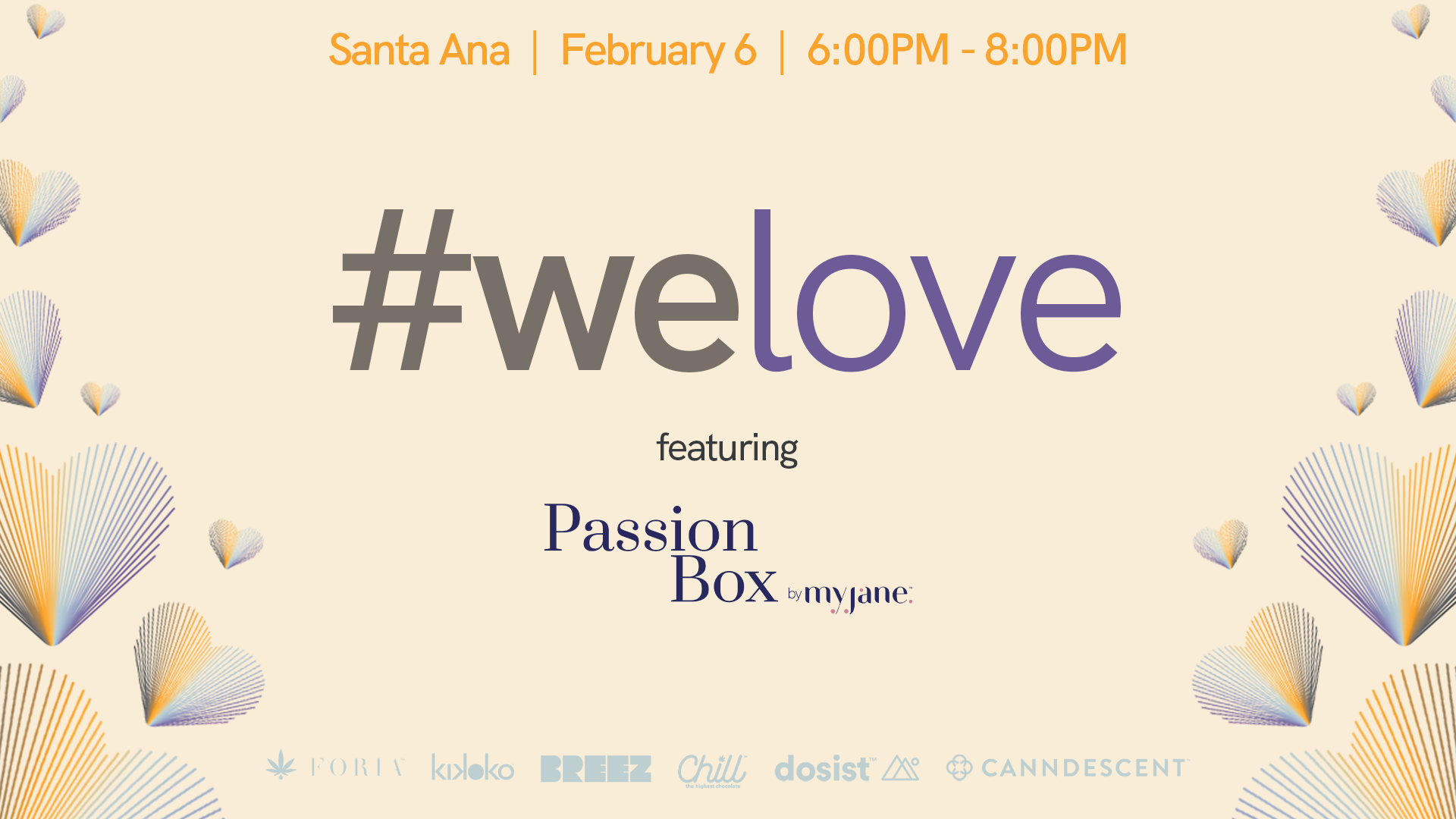#WeLove Valentine's Day Cannabis Education Event