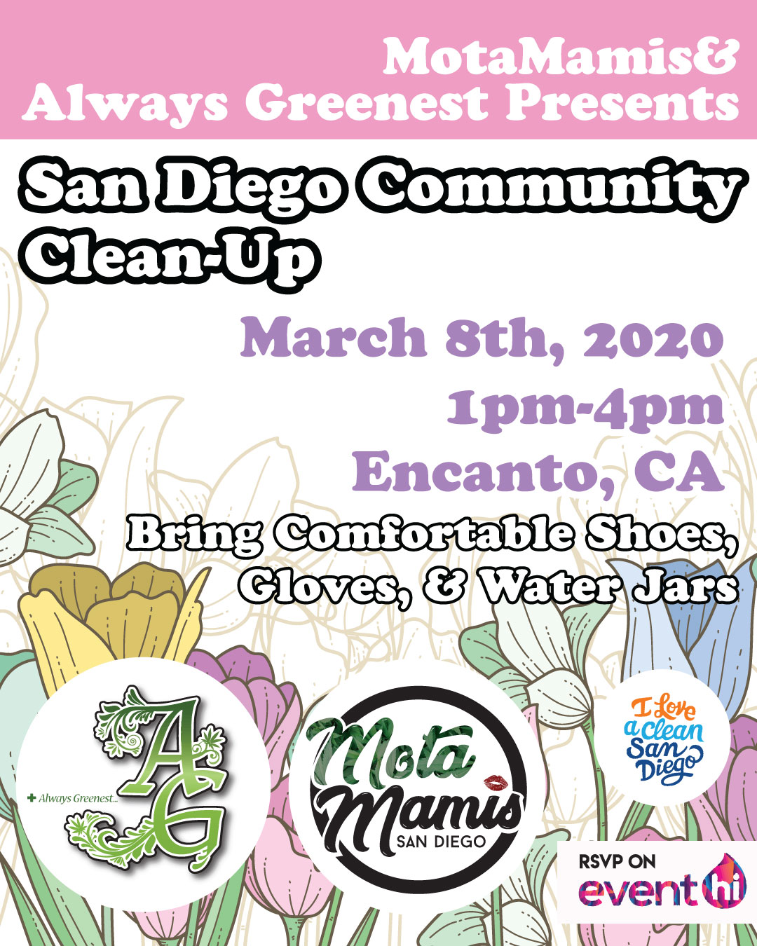 March Community Clean-Up