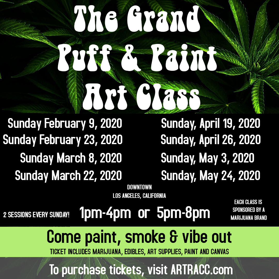 The Grand Puff and Paint Art Class