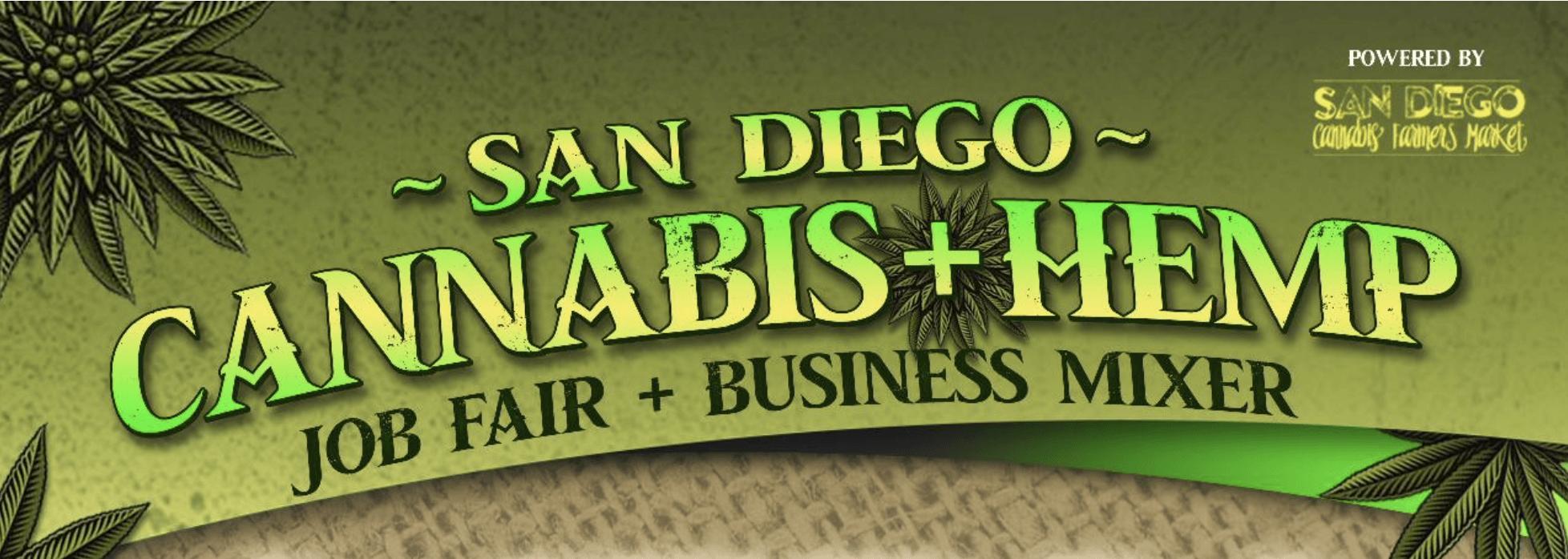 2nd Annual San Diego Cannabis Hemp Job Fair & Business Mixer (Sponsorship)