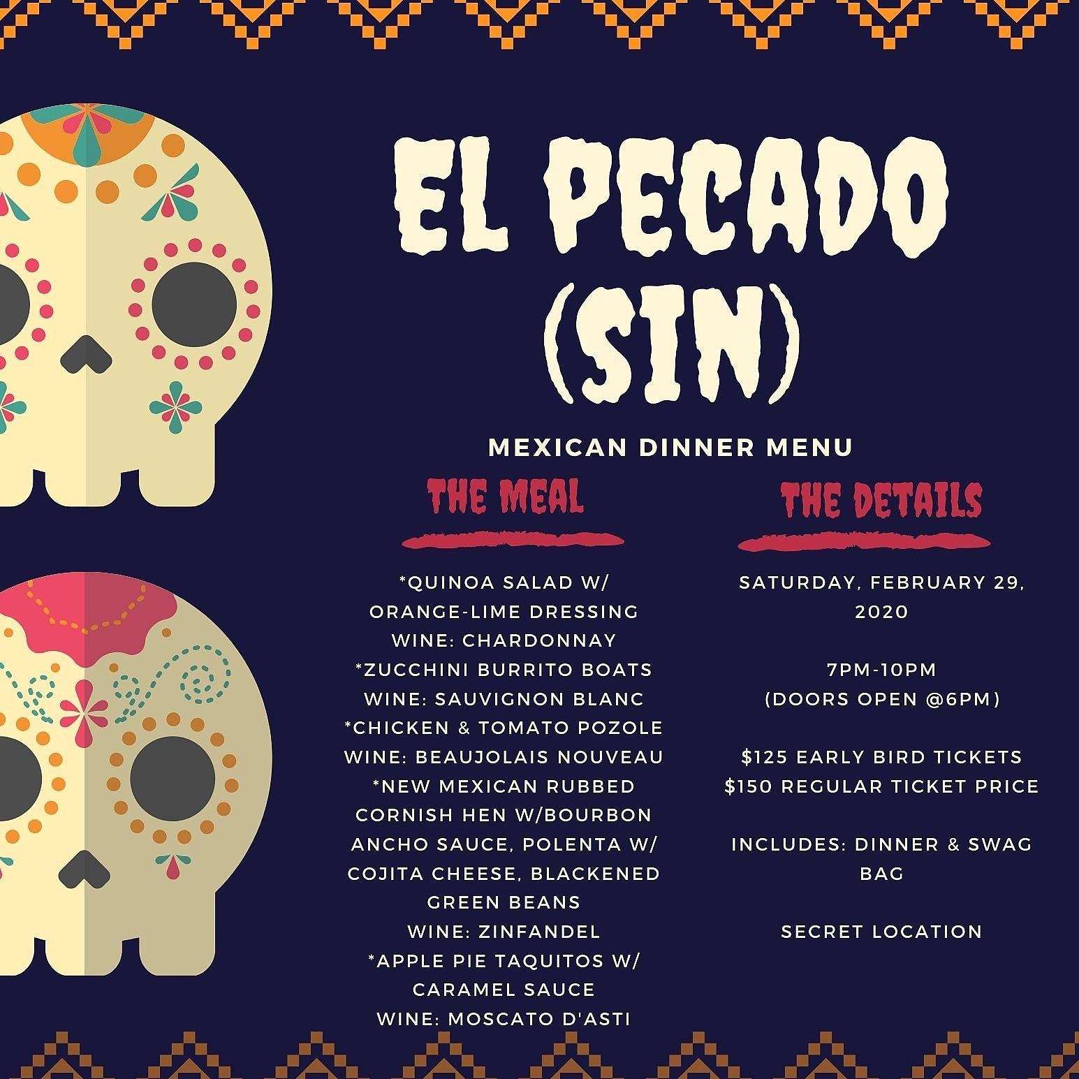 El Pecado (Sin): A Mexican Theme Dining Experience