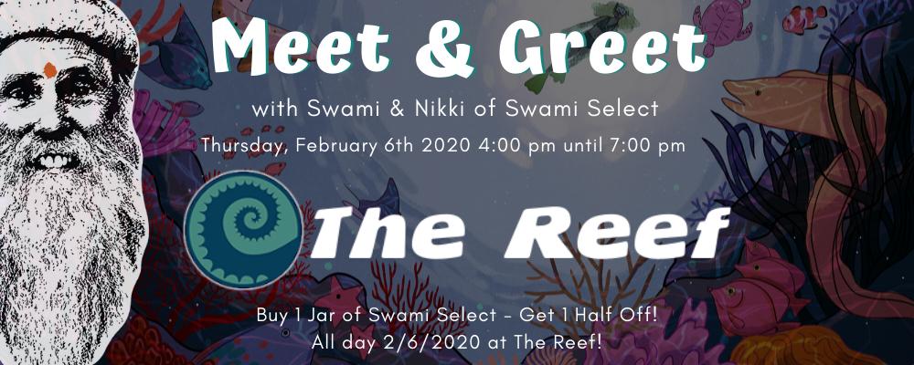 Swami Select In-Store Meet & Greet: The Reef in Seaside