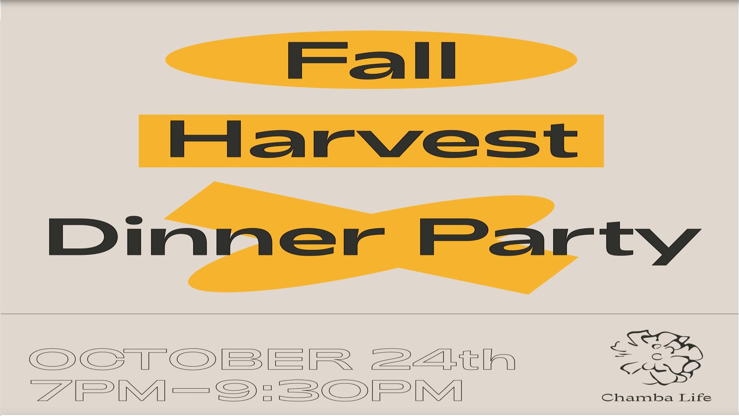 Fall Harvest Dinner