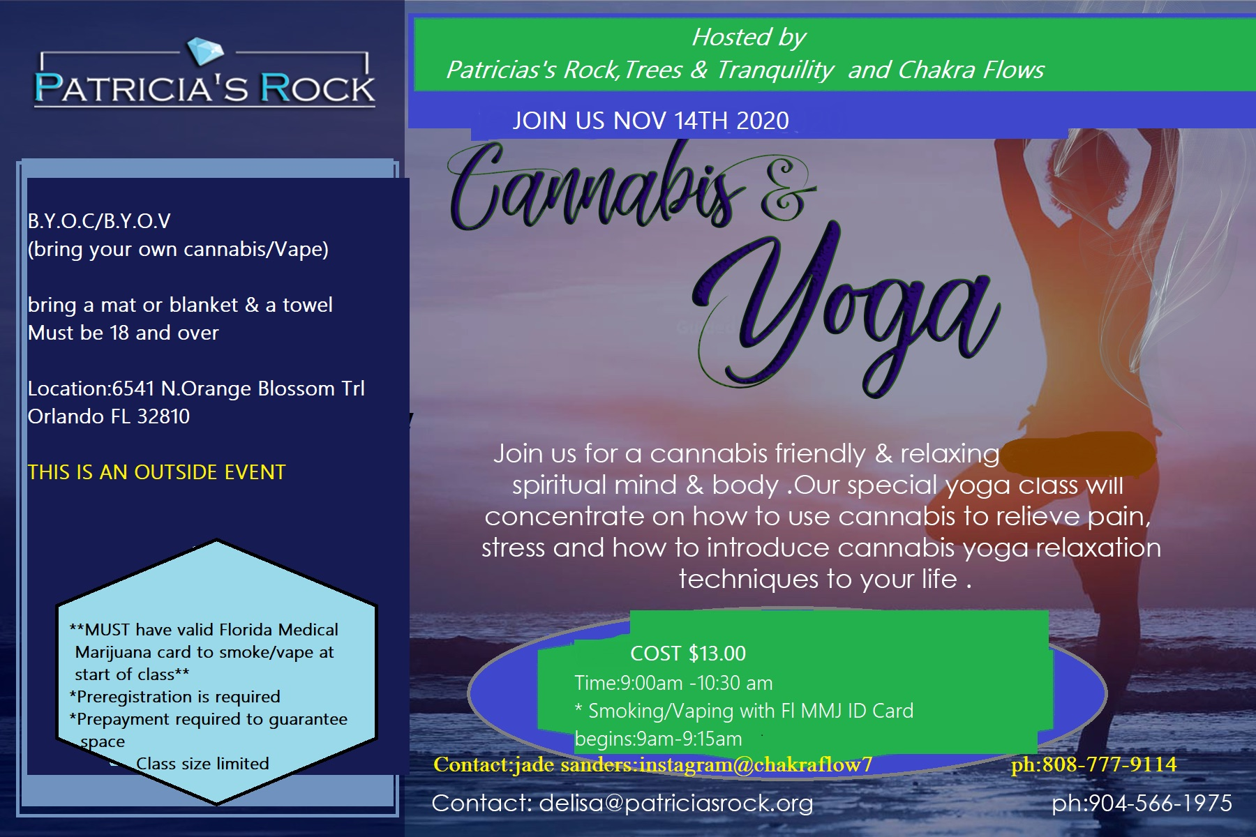 Cannabis & Yoga