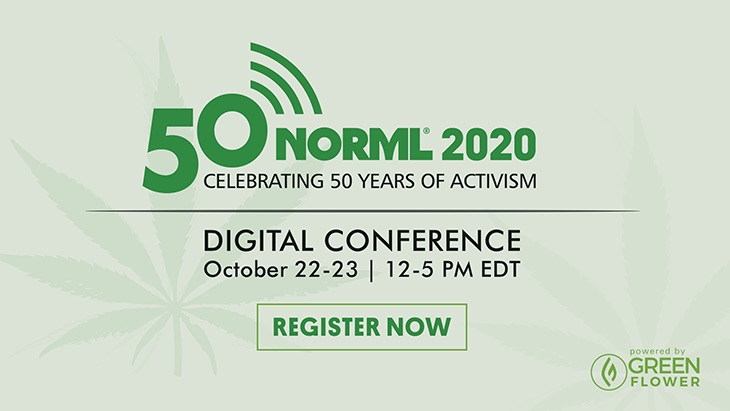 NORML 2020 Conference Day 1: Celebrating 50 Years of Activism
