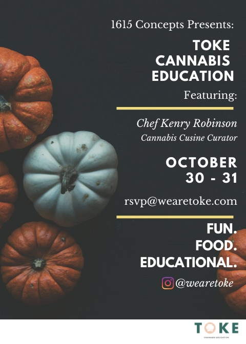 1615 Concepts Presents: Toke Cannabis Education