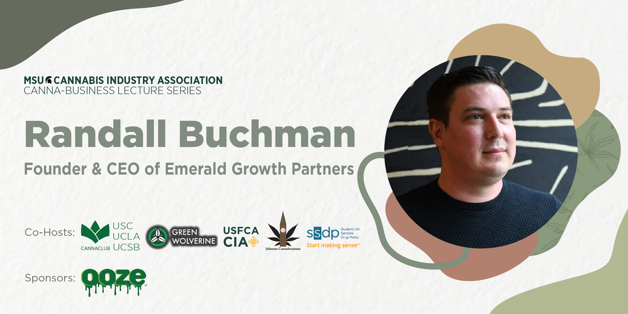 MSUCIA Cannabusiness Series, with Randall Buchman