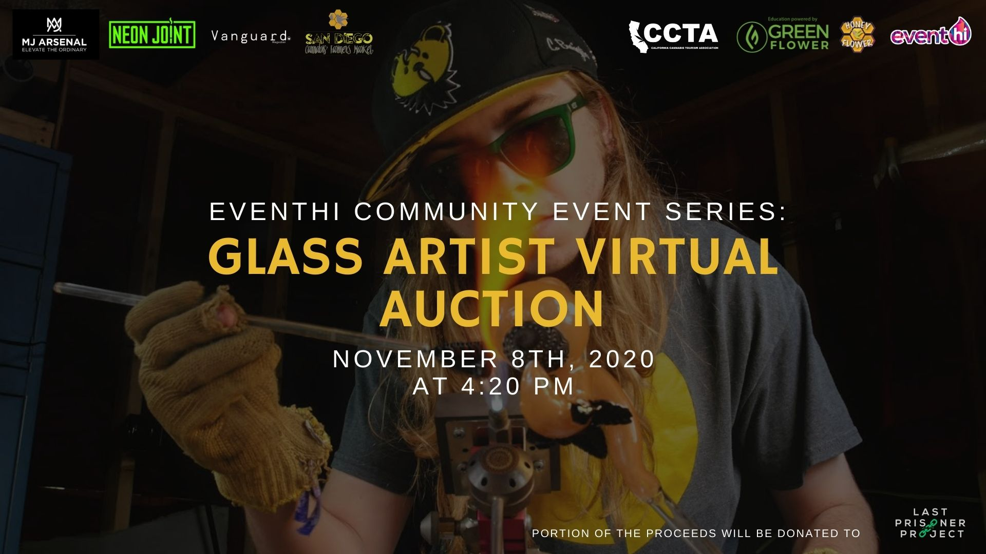 EventHi Community Event Series: Glass Art Virtual Auction