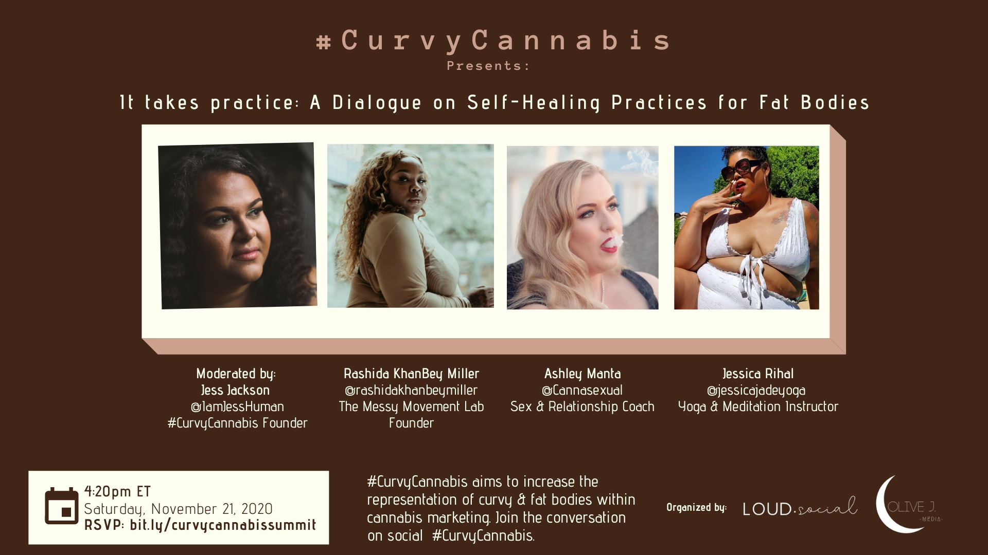 #CurvyCannabis Virtual Summit