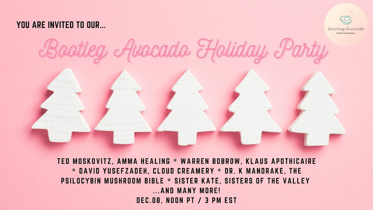 Bootleg Avocado Presents...First Annual Holiday Party