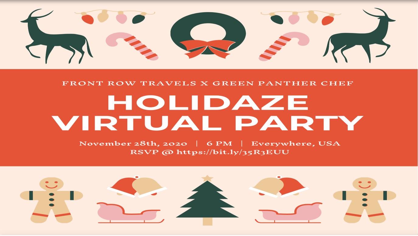 Holidaze Virtual Party