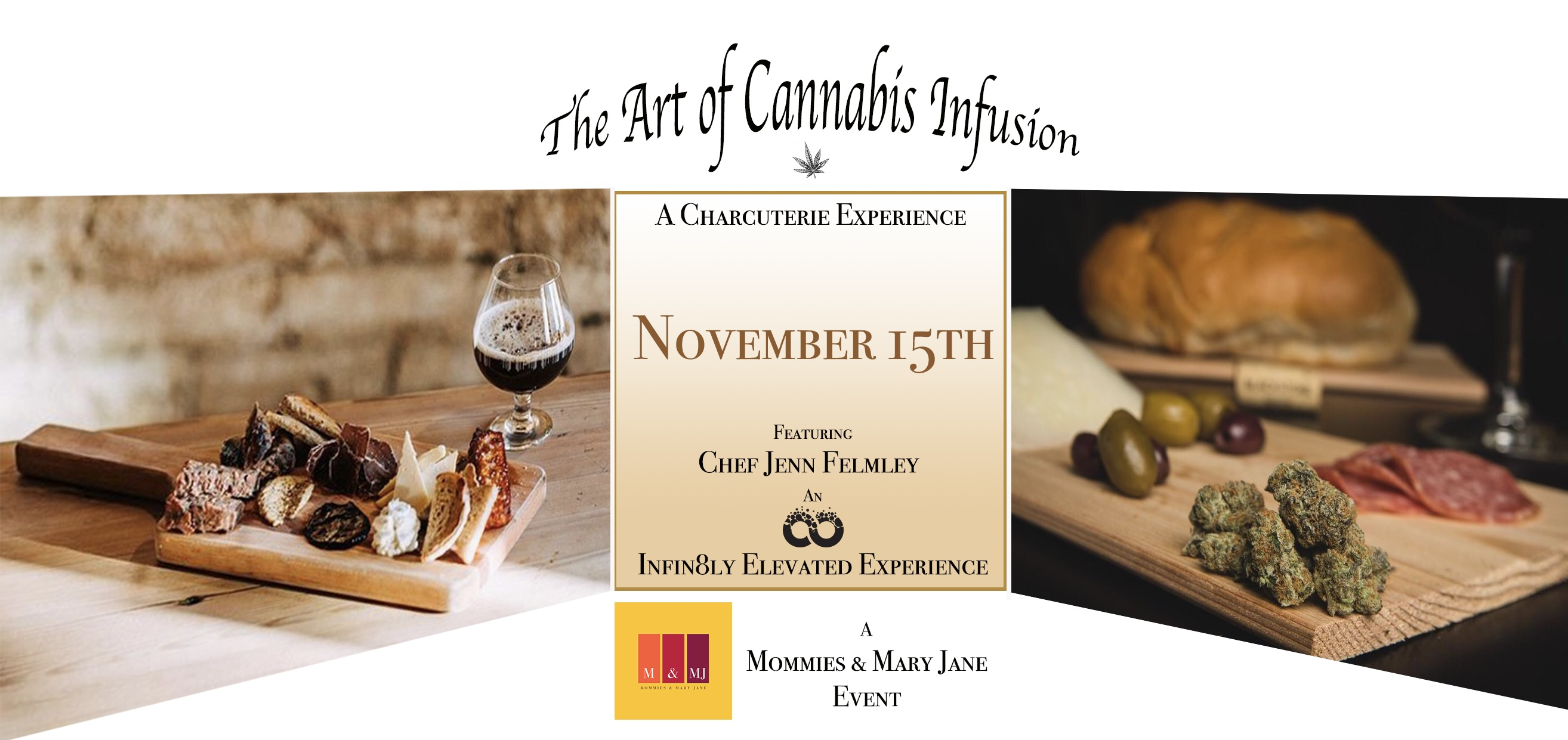 The Art of Cannabis Infusions: A Charcuterie Experience
