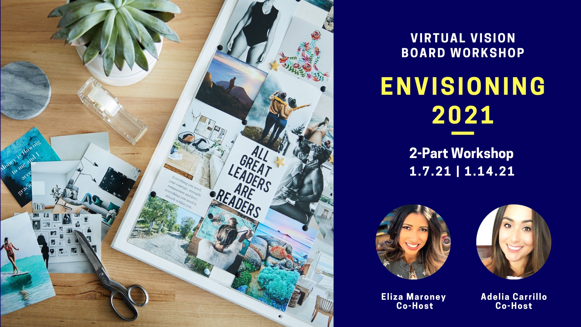 Envisioning 2021 Vision Board Workshop