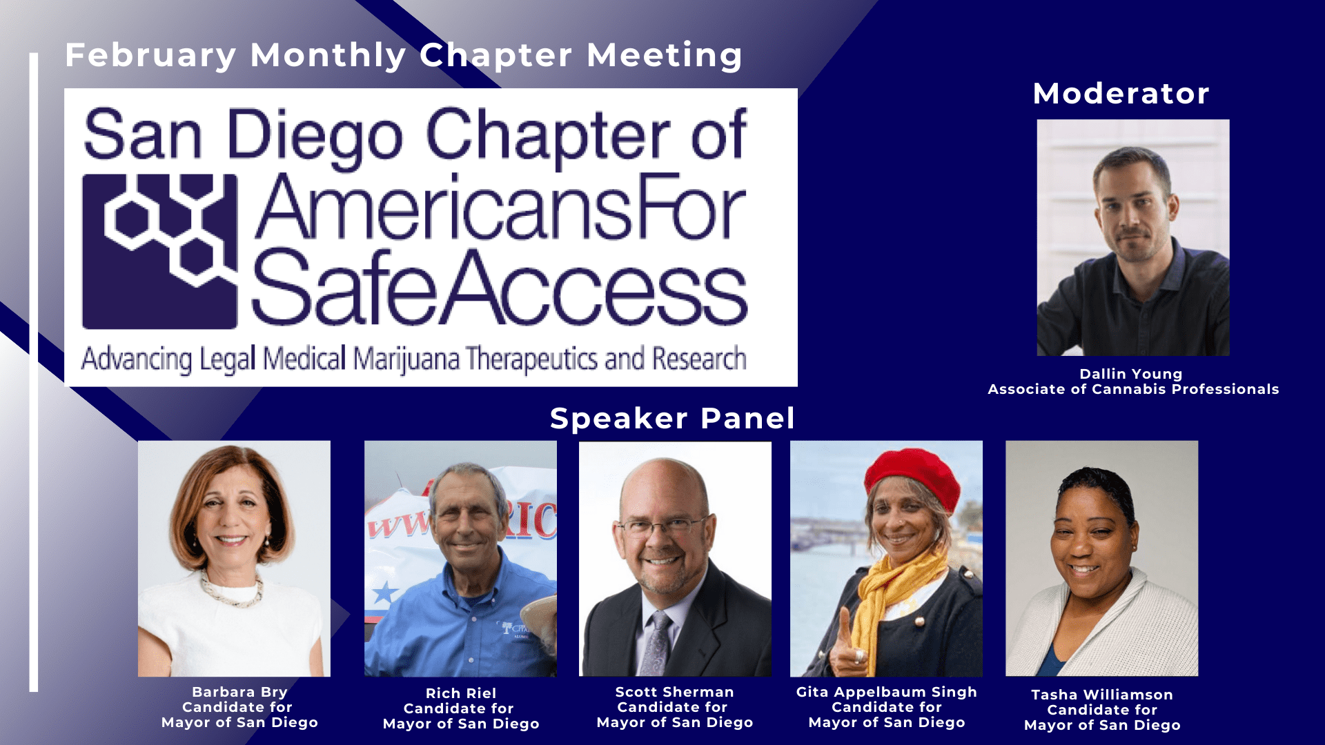 SDASA February Chapter Meeting