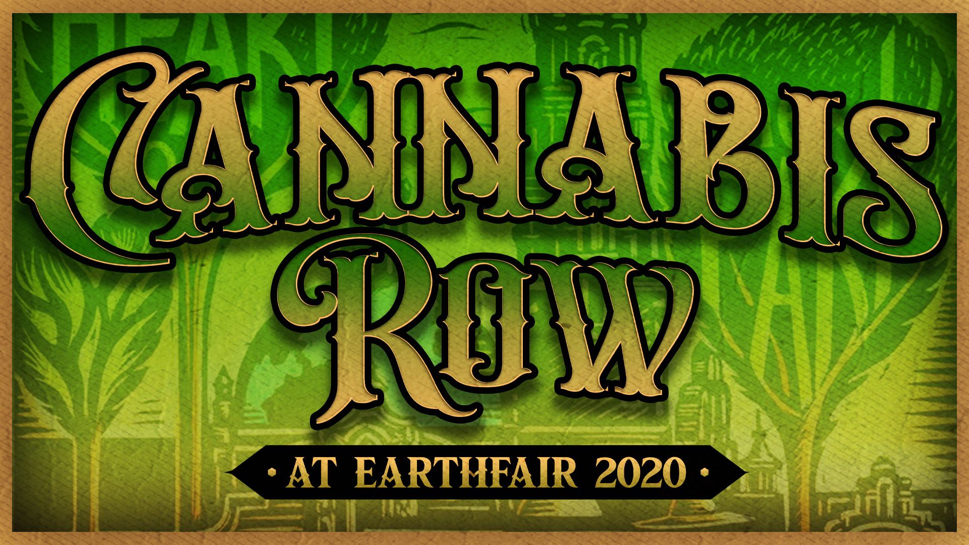 Cannabis Row at Earth Day San Diego