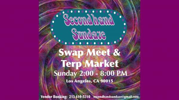 Secondhand Sundaze Terp Market & Comedy 3/1