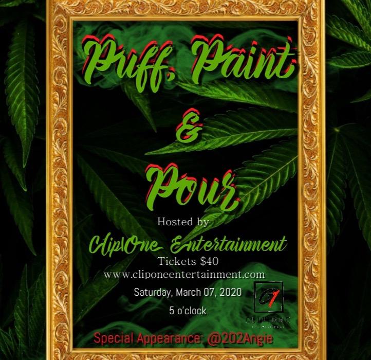 Puff Paint & Pour