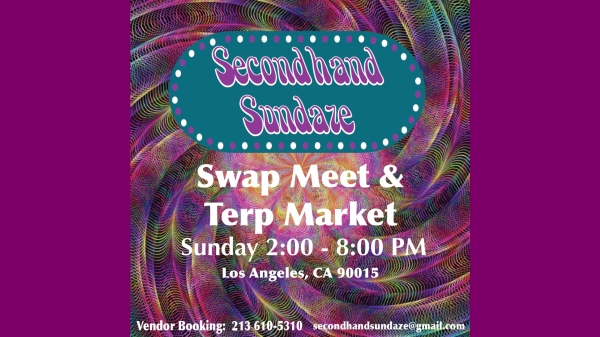 Secondhand Sundaze Terp Market & Comedy 3/29