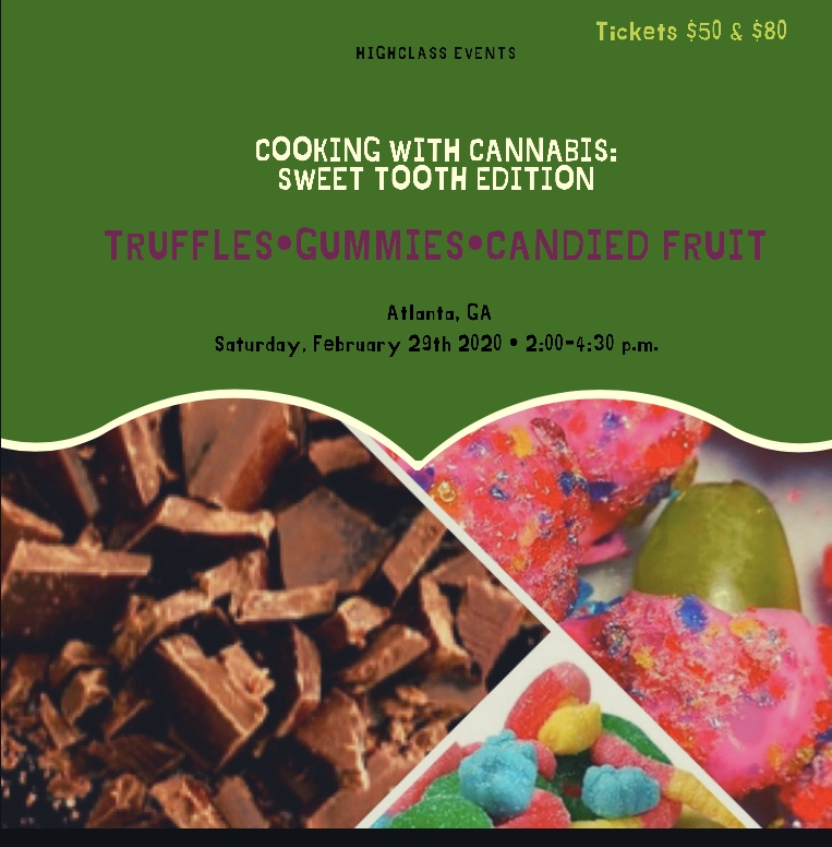 Cooking with Cannabis: Sweet Tooth edition