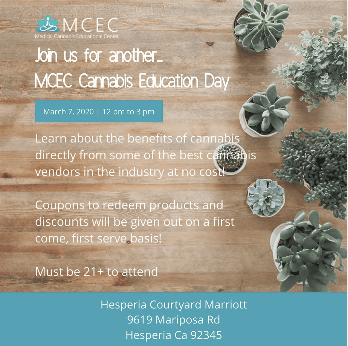 MCEC Cannabis Education Day