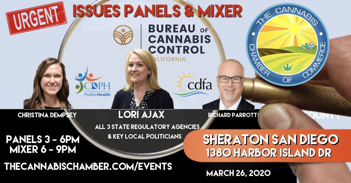 Cannabis Chamber of Commerce San Diego County Mixer (Sponsorships)
