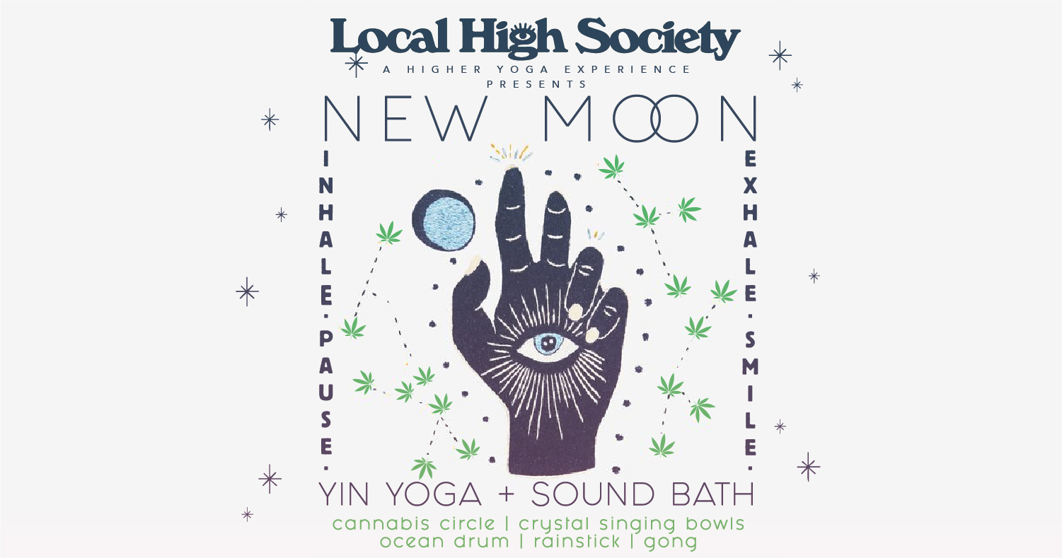 New Moon Yin Yoga + Sound Bath