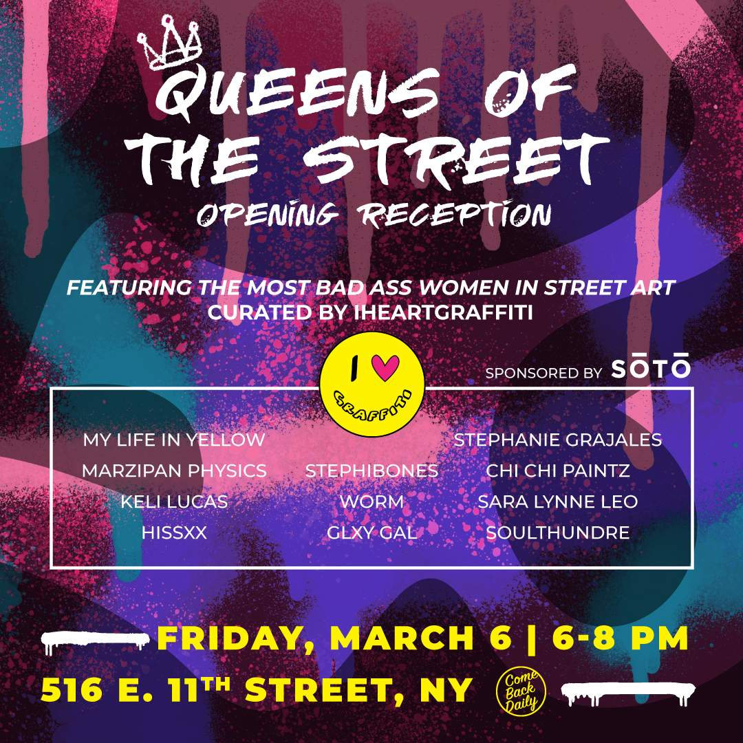 Queens of the Street Opening Reception