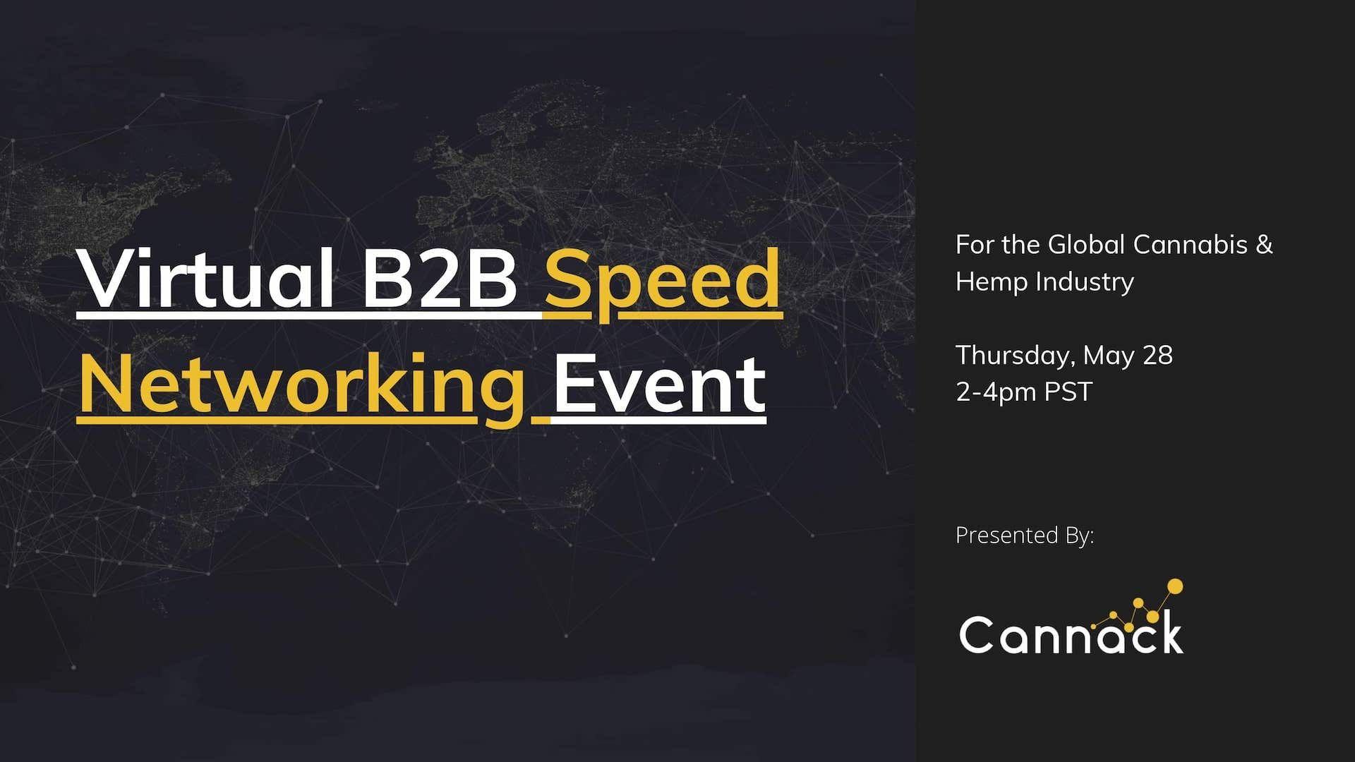 B2B Virtual Speed Networking (Sponsorship)